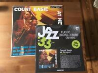 Jazz at 33 1/3 issues 36 and 37 Count Basie/Max Roach magazine and vinyl