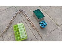Veg Patch / Allotment / Garden Items - Bamboo Canes / Netting / Pegs / Propagater - Loughborough