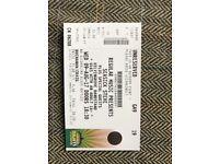 2 x Seasick Steve tickets (Kelvingrove Bandstand) for sale 9th August