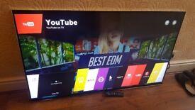 LG 55-inch 55UF950V Smart 3D 4K ULTRA HDR LED TV(TOP OF THE RANGE),built in Wifi,EXCELLENT CONDITION