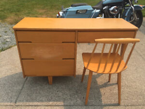 Mid-Century Modern Desk & Chair (Reduced)