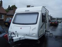 Elddis Xplore 302 two berth caravan. 2010