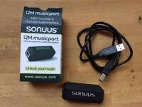 Sonuus i2M musicport audio-to-midi converter x 4
