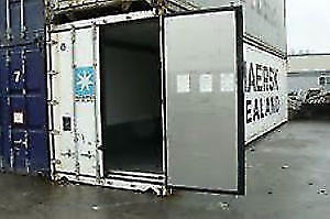 40' HC Reefer Freezer Insulated  Shipping Container SEACAN