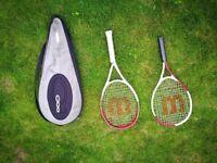 Willson Federer Pro tennis racket