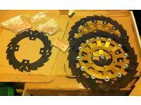 Unique Set of Saw Blade Brake Discs for Honda CBR 1000 2004-2007