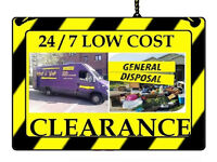 LoW CoSt ANY rubbish House clearance WASTE disposal GENERAL junk collection REMOVAL GARDEN Soil VAN