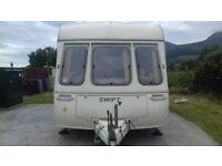 4 Berth Caravan for sale excellent condition