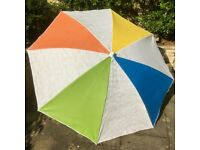 IKEA SALON Multi Colour Sunshade/Parasol180 cm NEW