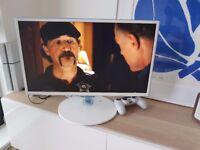 """SAMSUNG T24D391EW - white - 23.6"""" Full HD LED TV monitor"""