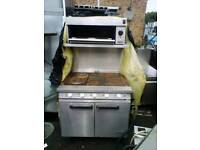 Industrial falcon cooker and grill