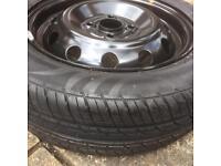 Wheel and tyre set for Kia picanto
