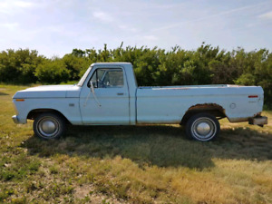 1973 Ford F100 2wd LWB pickup