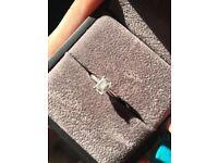 Beautiful ROX platinum diamond engagement ring cost 5k