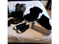 Job lot of shoes and boots size 4 and 5