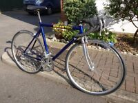 1993 Easton Road Bike // Blue 7005 Aluminium 55cm // Campagnolo Mirage 3x8 speeds // Serviced
