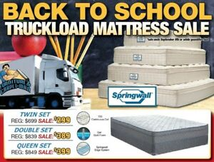 BACK TO SCHOOL MATTRESS SALE !!