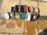 A Selection of Bonsai Pots and Trays