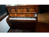 W.H.Barnes of London upright piano