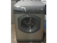 U114 graphite hotpoint 5kg&5kg 1400spin washing machine comes with warranty can be delivered