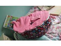 Pink Baby Bean Bag