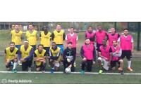 Play 8 a side football today at 7pm and 8:30pm. Anyone can join!