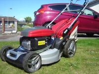 Honda Mountfield SP535HWV lawnmower 1 year old and is as new. Save £200 on new price