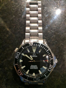 Omega Seamaster Diver Watch.