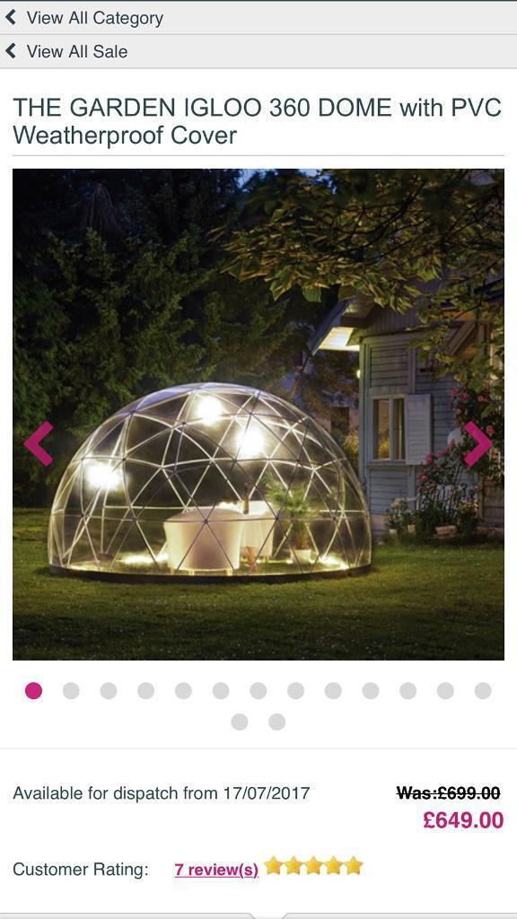 Garden Igloo 360 garden igloo 360 cm / 360cm hot   in lytham st annes, lancashire