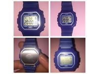 Casio retro Watch collection only millbrook oos