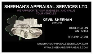CERTIFIED APPRAISALS (MTO TAX APPRAISALS) Starting at $50