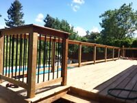★GENERAL CONTRACTOR ★DECKS★ AND MUCH MORE!★