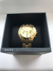 Gold Marc Jacobs Watch Immaculate Condition