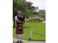 Bagpiper available for weddings, funerals and other events
