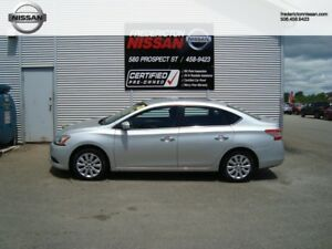 2013 Nissan  Sentra S - VALUE OPTION PACKAGE - LOW KMS!