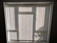 3 sets of vertical blinds