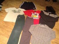 7 ITEMS BOYS CLOTHING AGE 9-10 & 11