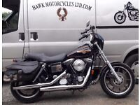 AMAZING AND RARE 1994 HARLEY DAVIDSON FXDS DYNA CONVERTIBLE 1340 EVO ONLY 9656 MILES WITH OLD MOT'S