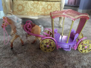 Princess Carriage and Horse