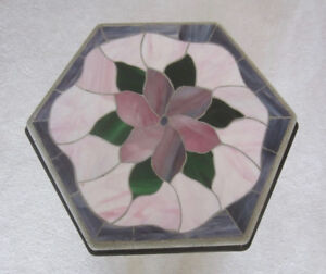 Stained glass small table