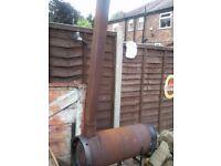 Gas Bottle Chiminea / Wood Burner / Log Burner