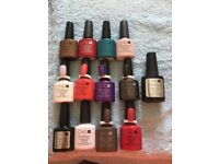 CND Shellac Polishes hardly used