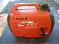 Generator for rental, Honda EU 20i, 2KW output