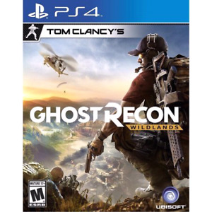 WANTED: TC: Ghost Recon-Wildlands, for PS4!