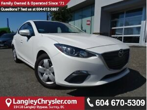 2015 Mazda Mazda3 GS w/AIR CONDITIONING & POWER ACCESSORIES