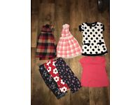 Bundle of baby girl clothes 9-12m