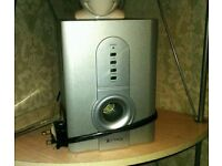 ) DVD PLAYER 1) MINI HI-FI SINGLE STEREO SPEAKERS