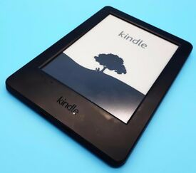 """Amazon Kindle 7th Gen e-Reader 4GB, Wi-Fi, 6"""" Black, excellent working order with charger"""