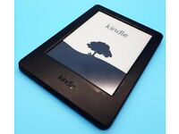 "Amazon Kindle 7th Gen e-Reader 4GB, Wi-Fi, 6"" Black, excellent working order with charger"