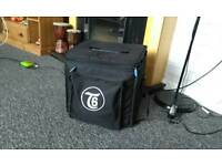Tanglewood t6 acoustic amp. With carry case. Hardly used.